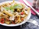 Рецепта Паста с босилеково песто и зеленчуци